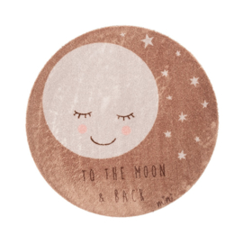Kinderkamer Vloerkleed To The Moon and Back