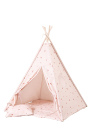 Tipi Tent / Speeltent Kinderkamer Misty Rose
