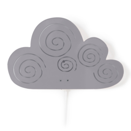 Wandlamp Kinderkamer Cloud Grey van Roommate