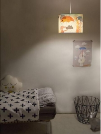 "Hartendief Wonderlamp Kinderkamer ""Clouds"""
