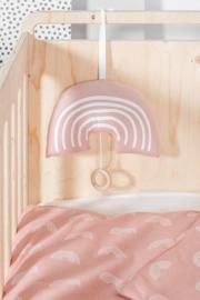 Muziekhanger Rainbow Blush Pink Jollein