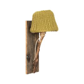 """Kinderkamer Wandlamp hout """"Mosterd"""""""