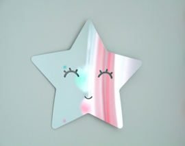 Spiegel kinderkamer Star Mirror Silver