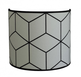 "Wandlamp Kinderkamer ""Abstract"" Black & White"