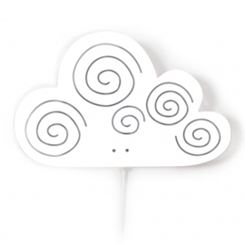 Wandlamp Kinderkamer Cloud White van Roommate