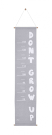 Groeimeter 70-140 cm ABC Grijs Jollein