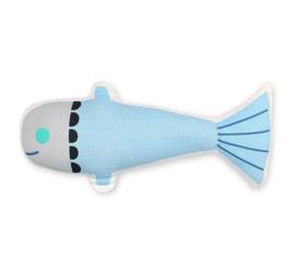 Knuffel Kussen Fish 47 cm van Petit Monkey