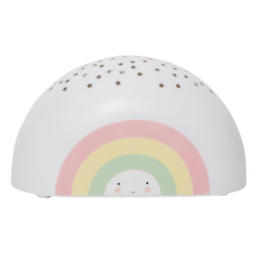 Projector nachtlampje kinderkamer Regenboog A Little Lovely Company