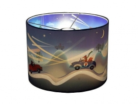 "Hartendief Wonderlamp Kinderkamer ""Night Riders"""