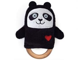 Rammelaar / Bijtring Panda Beer van O.B. Designs