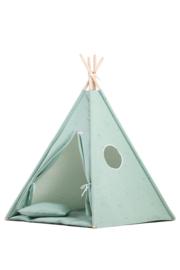 Tipi Tent / Speeltent Kinderkamer Minty Green