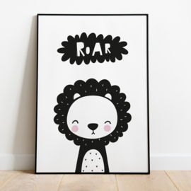 Poster Kinderkamer Leeuw Roar