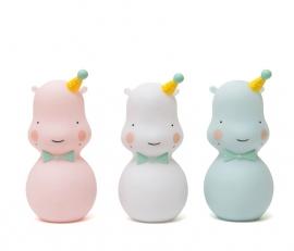 Hippo nachtlampje pink Eef Lillemor