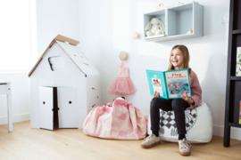 "Play & Go Opbergzak en Speelgoedkleed ""Pink Elephant"""