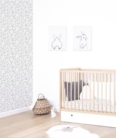 Wallpaper Bunnies van Lilipinso
