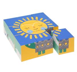 Peanut & Friends block puzzle 9 blokjes 2+