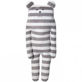 Knuffel Craftholic Bear XL Grey Stripes 100 cm