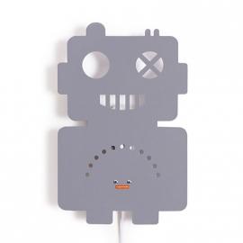 Robot wandlamp kinderkamer grijs van Roommate