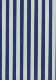 Behang Kinderkamer Blauw / Grijs gestreept Fabs World