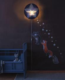 "Hartendief wonder wandlamp kinderkamer ""Slaap Zacht, Kleine Ster"""