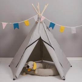 Hippie Tipi Tent / Speeltent Grijs van Roommate