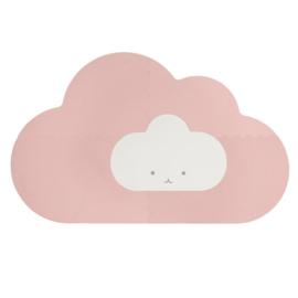 Speelmat Kinderkamer Head in the Clouds Pink Quut
