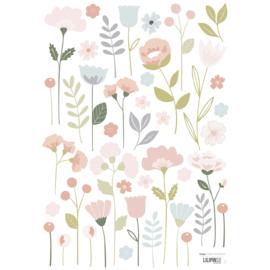 Muurstickers Kinderkamer Flowers