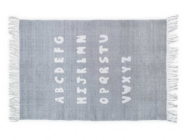 Vloerkleed Kinderkamer ABC Grey Jollein