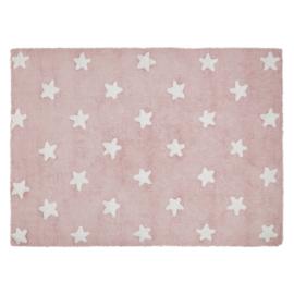 Vloerkleed Kinderkamer Stars Pink