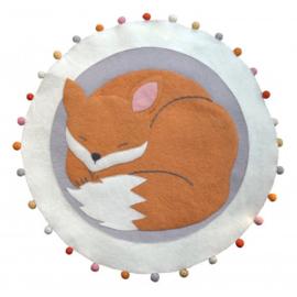 Kinderkamer Vloerkleed Sleepy Fox Fiona Walker