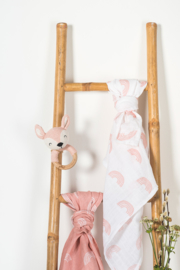 Bijtring Ø 7cm Deer Pale Pink Jollein