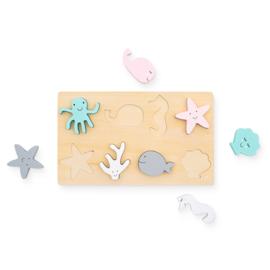 Puzzel hout Sea Animals Jollein
