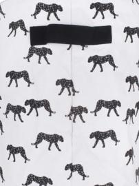 Mand XL canvas Leopard Jollein
