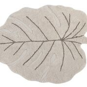 Vloerkleed Kinderkamer Monstera Leaf Natural Lorena Canals