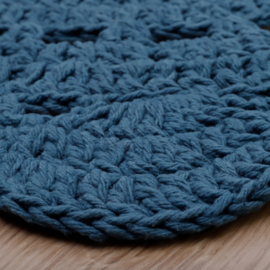 Vloerkleed Kinderkamer Alma Dark blue Nattiot
