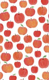 Behang Kinderkamer Funky Appels