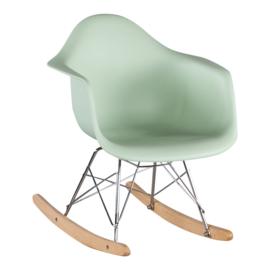 Schommelstoel voor kinderen Eames Junior Mint