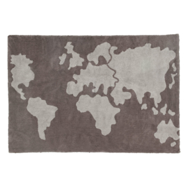 Vloerkleed Kinderkamer World-Map