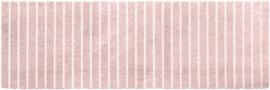 Vloerkleed Kinderkamer Evita Pink Mini collectie  50 x 150 cm