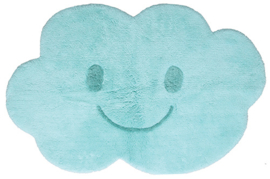 "Vloerkleed Kinderkamer ""Happy Cloud Blue"""