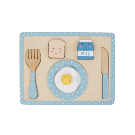 Breakfast Playset Blue