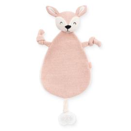 Knuffeldoekje Deer Pale Pink Jollein