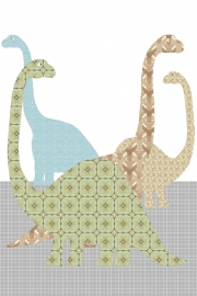 Inke XL Muurprints Behang Dino 080