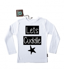 Strijkapplicatie 'Lets Cuddle Ster' van Pimp-Studio