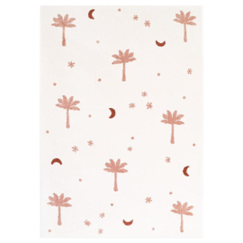 Vloerkleed Kinderkamer Little Palm Sienna