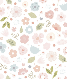 Wallpaper Flowers Bloom van Lilipinso