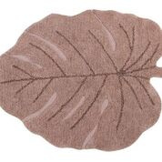 Vloerkleed Kinderkamer Monstera Leaf Nude Lorena Canals