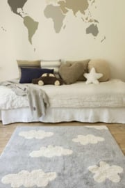 Vloerkleed Kinderkamer Clouds Grey