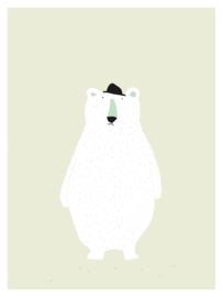 Poster Kinderkamer Mr Polar Bear