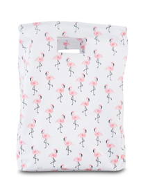Mand XL canvas Flamingo Jollein